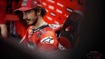 """MotoGP: Bagnaia: """"Ho parlato con Michelin, hanno riconosciuto il problema alla gomma"""""""