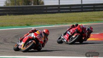 MotoGP: VIDEO - The extraordinary duel between Bagnaia and Marquez at Aragon