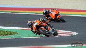 MotoGP: Gardner and Fernandez both overwhelmed after first taste of KTM's MotoGP bike