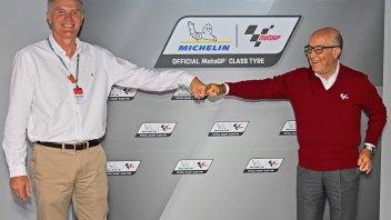 MotoGP: Michelin fornitore unico per le gomme della MotoGP fino al 2026