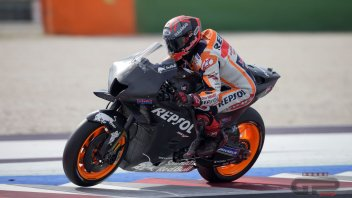 """MotoGP: Márquez: """"The new Honda 2022 is good in concept, but we need to work on it."""""""