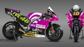 MotoGP: Luca Marini's Ducati becomes fuchsia for the Misano GP