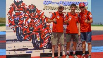 MotoGP: Ducati a tre punte a Misano: Michele Pirro conferma la sua wild card