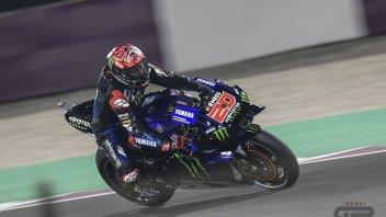 MotoGP: Quartararo 1° in una FP3 degna della Dakar a Losail: Petrucci 4°, Rossi in Q1
