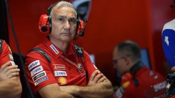 """MotoGP: Tardozzi: """"The blackboard with the word 'Marquez' meant: you know what he's capable of"""""""