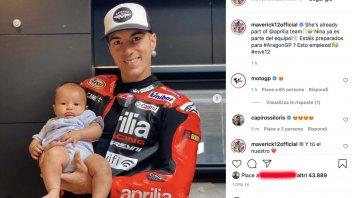 MotoGP: Maverick: vi presento Nina Vinales, nuovo membro del team Aprilia
