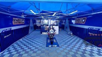 SBK: Vinales' team displayed the Yamaha R3 in memory of Dean Berta