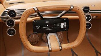Auto - News: Hyundai: un brevetto per il volante con il cruscotto digitale integrato