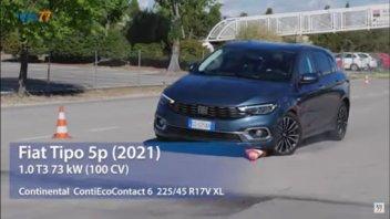 Auto - News: Fiat Tipo 2021: il test dell'alce non perdona