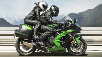 Moto - News: Kawasaki Ninja H2 SX: per il 2022 arrivano i radar