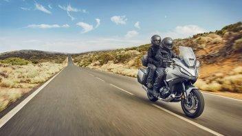 Moto - News: Honda NT1100, svelata la nuova Touring di Tokyo