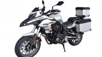 Moto - News: Benelli TRK 702 2022: tutto pronto per il debutto... In Cina