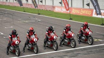 Moto - News: Royal Enfield Continental GT Cup, l'antagonista del Guzzi Fast Endurance