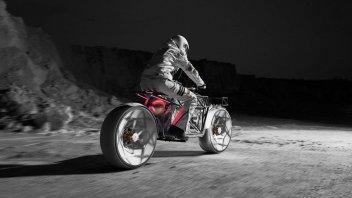 Moto - News: Andare in moto sulla luna? Ecco l'idea di Cake e Hookie Co.