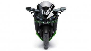 Moto - News: Kawasaki ZZX 1500: suggestione da 300 CV per la sport-touring turbo