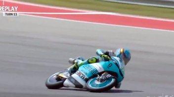 Moto3: VIDEO - Altro che Marquez: Artigas fa un salvataggio che supera la fisica