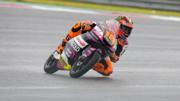 Moto3: Migno-Surra: doppietta tricolore sul bagnato nella FP1 di Misano