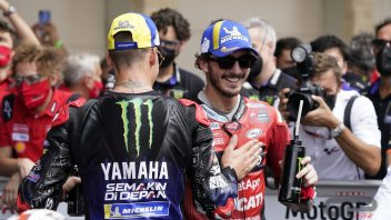 """MotoGP: Bagnaia issues challenge to Quartararo: """"on paper he's faster, but I'll fight to stay in front"""""""