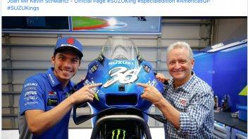 MotoGP: Joan Mir ad Austin con un numero in stile Kevin Schwantz