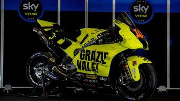 MotoGP: Giallo Valentino: Marini rende omaggio al fratello a Misano