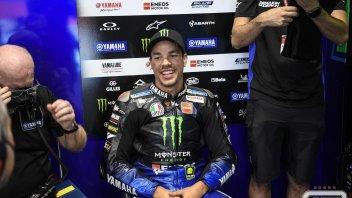 """MotoGP: Morbidelli: """"Mi emoziona che una leggenda come Rossi smetterà di correre"""""""
