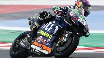 """MotoGP: Bastianini: """"Grip disastroso, anomalo cadere per tre volte"""""""