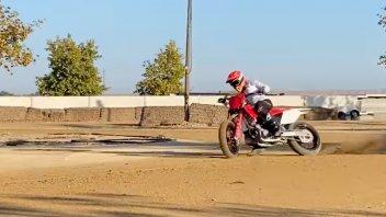MotoGP: VIDEO - Marquez continua il suo rodeo: da Austin al dirt track