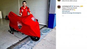 MotoGP: Michele Pirro debuts the Ducati Desmosedici 2022 at Jerez