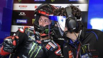 """MotoGP: Quartararo: """"Ho fatto un grande passo in avanti sul bagnato"""""""
