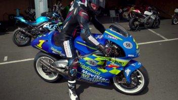 MotoGP: L'urlo del 2 tempi: onboard di Taylor Mackenzie sulla Suzuki 500 di Roberts Jr