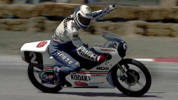 News: Misano remembers Gresini: his son Luca on track on the Garelli 125