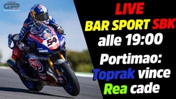 SBK: LIVE Bar Sport SBK alle 19:00 - Portimao: Toprak vince, Rea cade