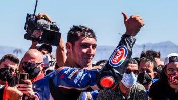 "SBK: Toprak: ""Ero al limite, la Yamaha vibrava e non avevo grip"""