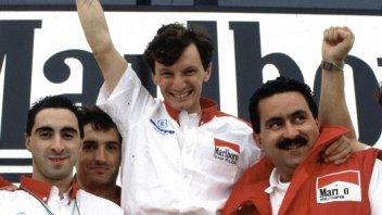 Farewell to Fausto Gresini, unbreakable despite grief for Kato and Simoncelli