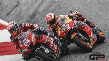 The unexpected guest: Andrea Dovizioso is waiting for Marc Marquez, at the Jerez tests
