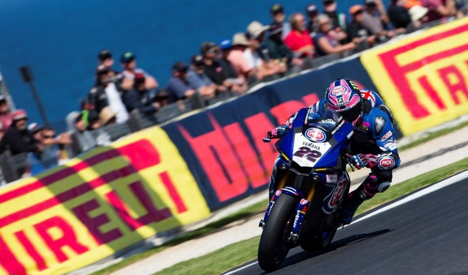 "SBK: Lowes: ""With this Yamaha now the podium is possible"""