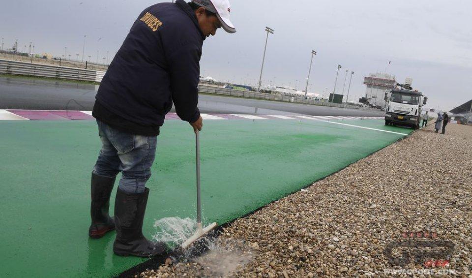 MotoGP: GP Qatar: qualifiche cancellate, si parte con i tempi delle FP