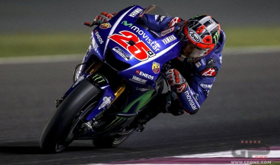 MotoGP: FP1, Vinales e la Yamaha dettano legge, 9° Rossi