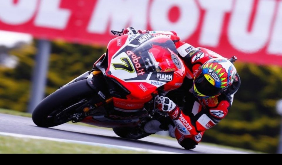 SBK: Ad Aragon al via l'operazione rimonta per Davies e Ducati