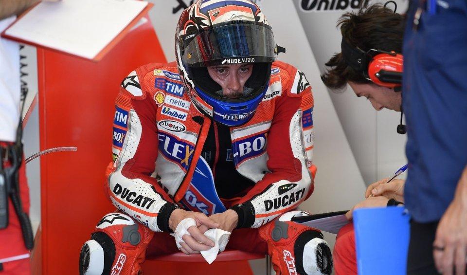 MotoGP: Dovizioso: un disastro e non abbiamo un piano