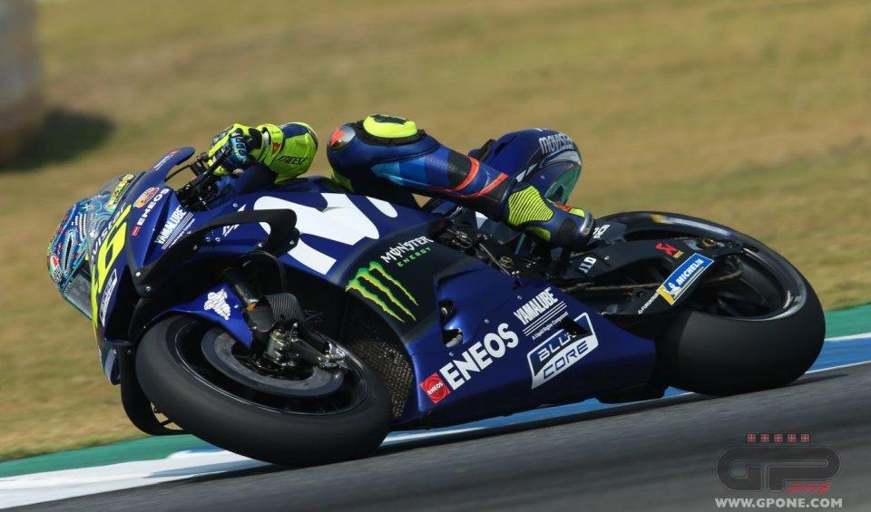 """MotoGP: Rossi: """"Con la Yamaha è come giocare a carte"""""""