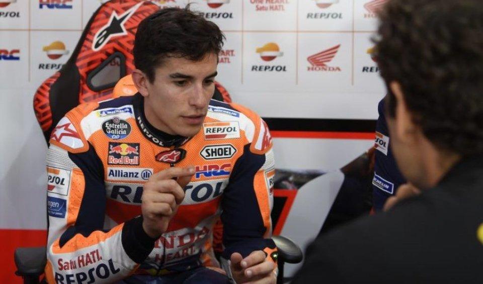 """MotoGP: Marquez: """"Non riesco ad essere veloce come voglio"""""""