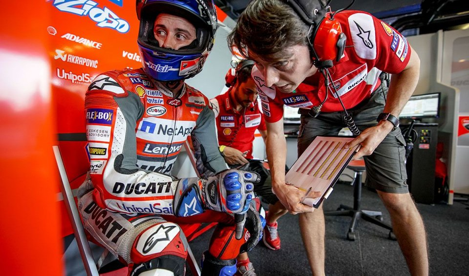 """MotoGP: Dovizioso: """"Marquez thinks I'm ahead? He'll be there with me on the last lap"""""""