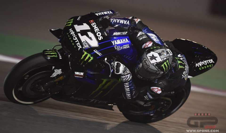 "MotoGP: Vinales: ""Two fundamental days in which to refine the M1"""
