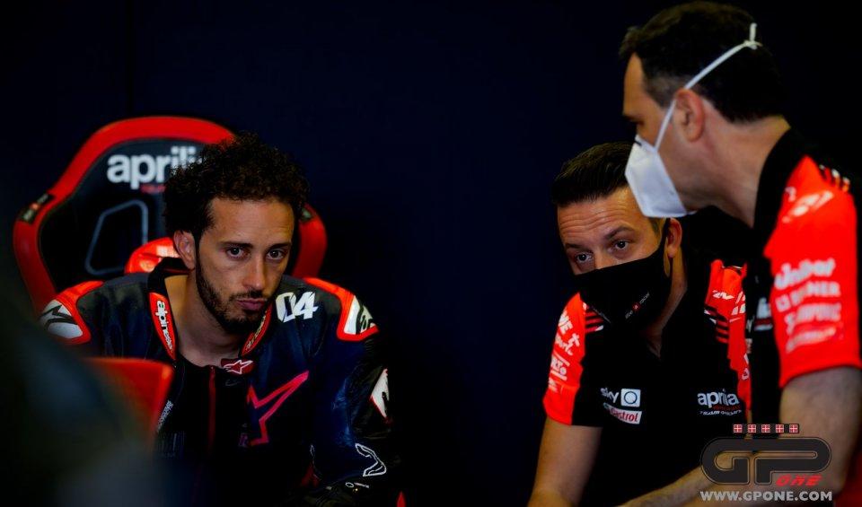 """MotoGP: Rivola: """"Dovizioso soluzione per il 2022, ma abbiamo valide alternative"""""""