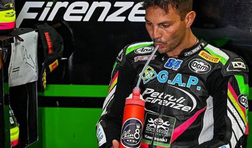 """SBK: Fabrizio: """"I refuse to race out of respect for human lives"""""""