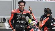 """MotoGP: A. Espargarò: """"Marquez gran coraggio, non erano due gocce, pioveva"""""""