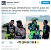 Rossi trains at Ranch with the kings of the Flat Track